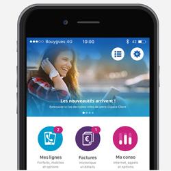 Les clients Bouygues Telecom Mobile et Fixe peuvent accéder à une nouvelle application Espace Client