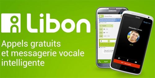 L'application Libon est disponible sur Android