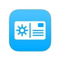 L'application qui envoie des cartes postales via le smartphone