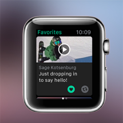 L'application Vine est d�sormais compatible avec l'Apple Watch