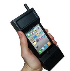 L'iPhone se transforme en un mobile des années 80