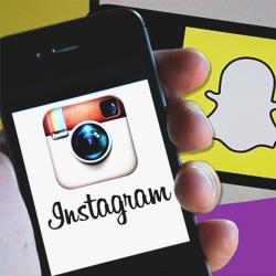 Instagram et Snapchat sont de plus en plus utilisés par les jeunes