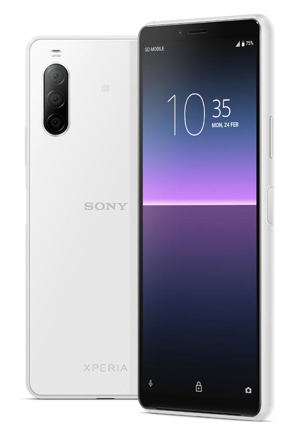 L'Xperia 10 II : le 1er smartphone premium 5G chez Sony