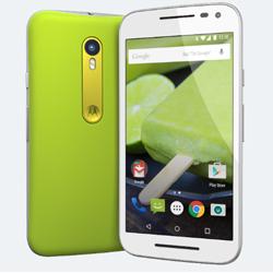 Motorola d�voile son 3�me Moto G