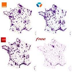 Plus 40 000 antennes 4G en France métropolitaine