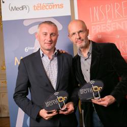 La Huawei Watch et le   Huawei P8 Lite sont récompensés aux Mobiles d'Or 2015