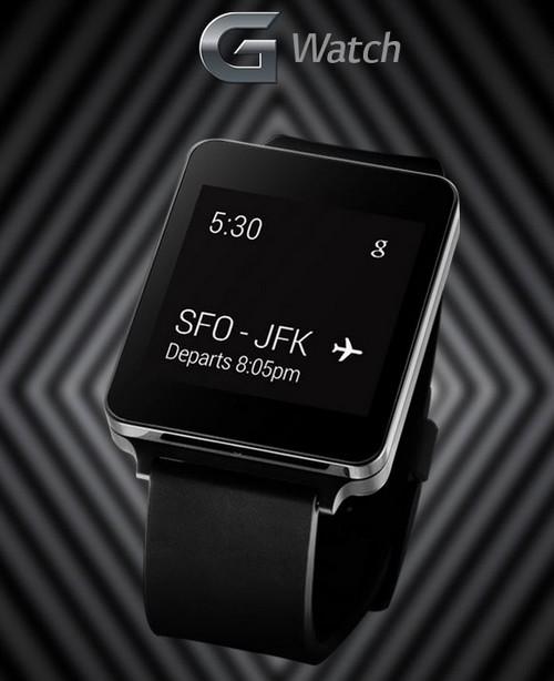 La LG G Watch apparaît avant l'heure dans une vidéo
