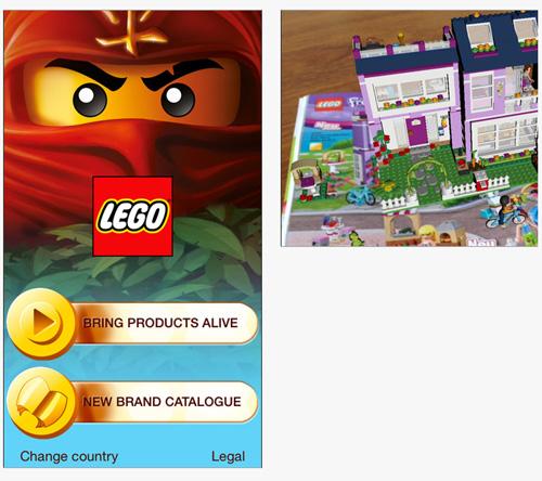 La marque LEGO donne vie aux jouets de son catalogue produits avec sa nouvelle application 3D