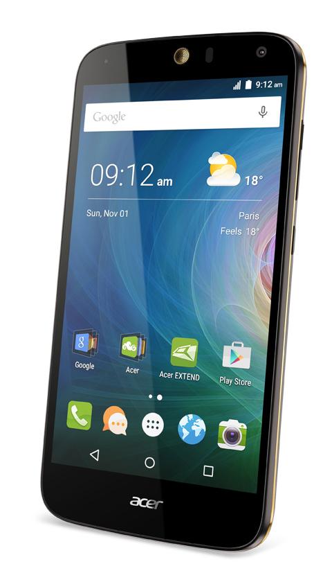 Android 6.0 Marshmallow sera disponible sur le Acer Liquid Z630S mi-juillet