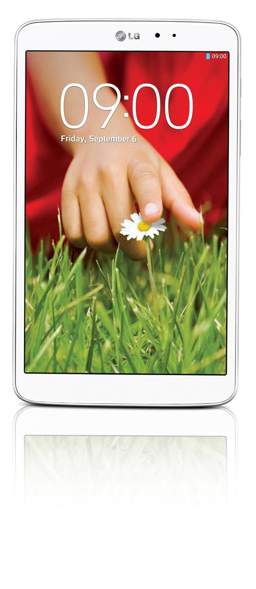 La nouvelle tablette LG série G sera lancée à l'occasion du salon IFA 2013 à Berlin