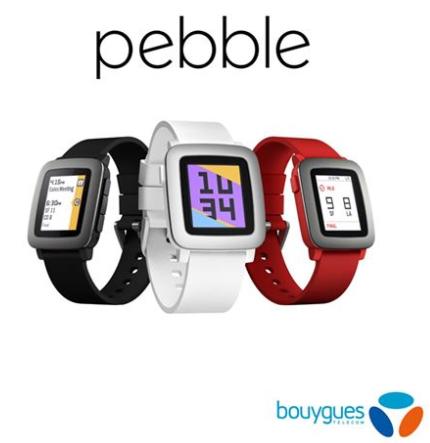 La Pebble Time débarque chez Bouygues Telecom le 1er août
