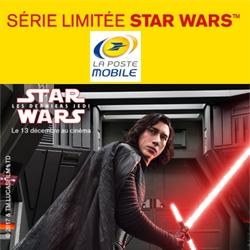 La Poste Mobile lance ses offres Stars Wars en Séries Limitées