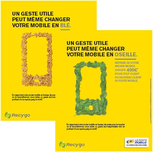 La Poste Mobile lance son service de recyclage des mobiles