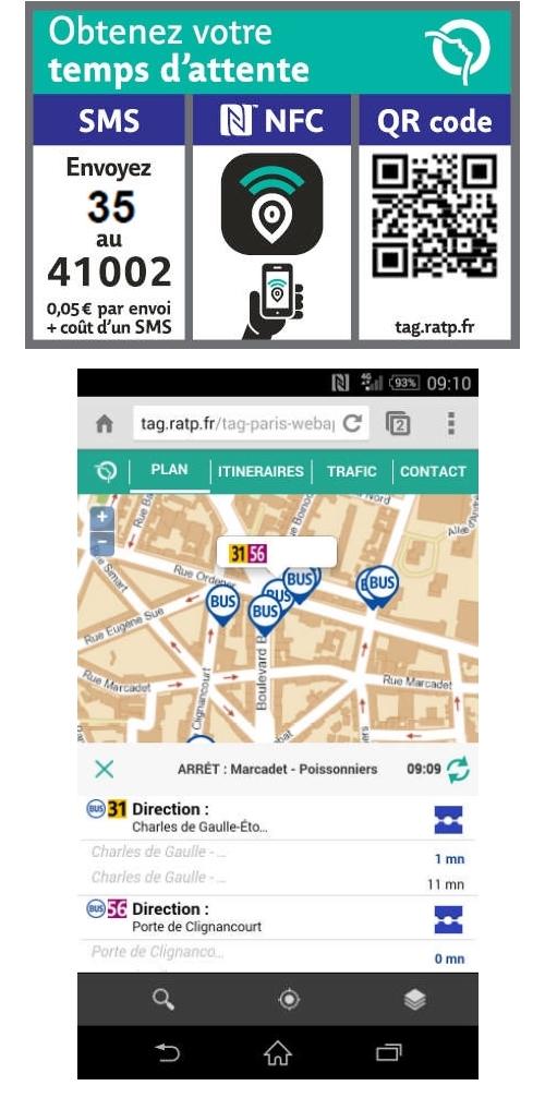 La RATP démocratise le NFC aux arrêts de bus et de tramway