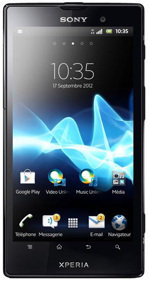La sortie du Sony Xperia ion est prévue pour le mois de septembre