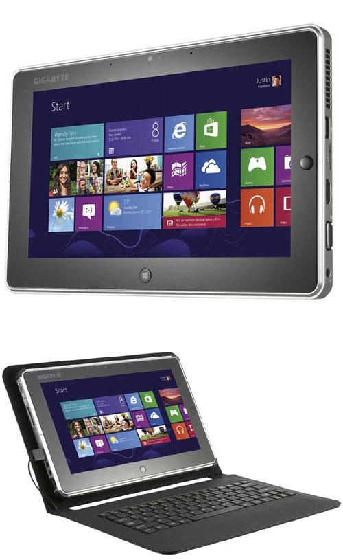 La tablette GIGABYTE S1082 débarque avec une version SSD 128G