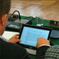 La tablette tactile devient un outil indispensable pour les élus locaux