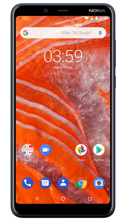 Lancement des Nokia 8.1, 5.1 Plus et 3.1 Plus en janvier 2019