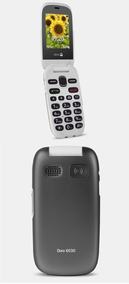 Doro 6030 : un modèle à clapet pour les seniors