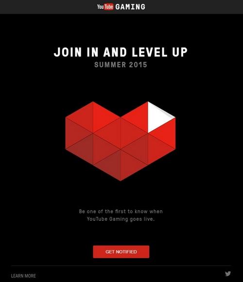 YouTube Gaming : lancement prévu aujourd'hui