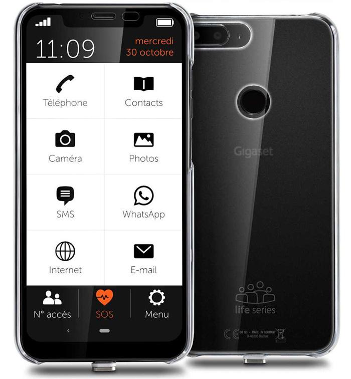 Le Gigaset GS195 LS, un mobile dédié aux seniors
