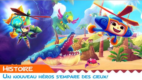 Le ciel est la limite : Heroki est disponible sur iPhone
