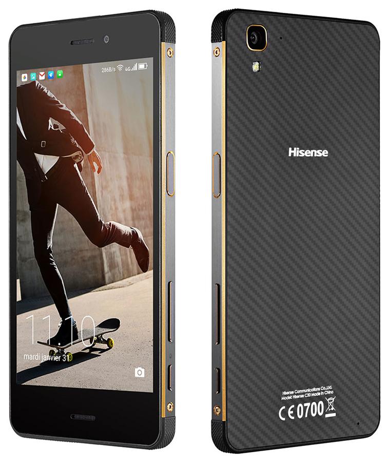 Le Hisense Rock, un smartphone qui se veut solide comme le roc