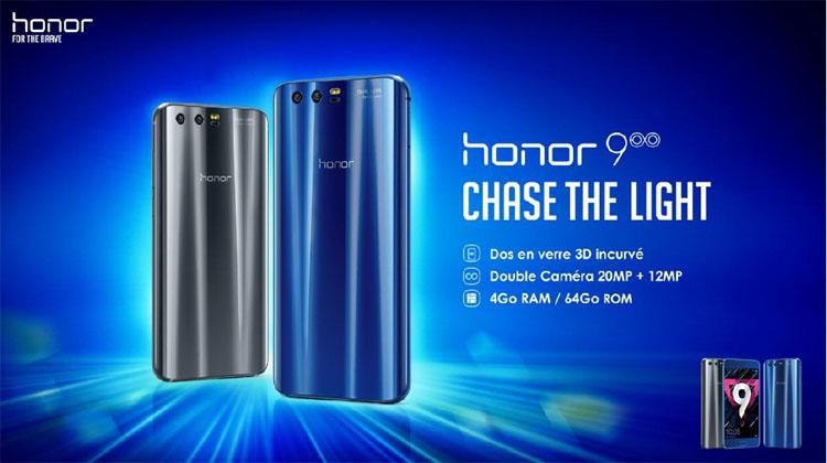 Honor 9 : la gamme accessible de Huawei débarque officiellement en France
