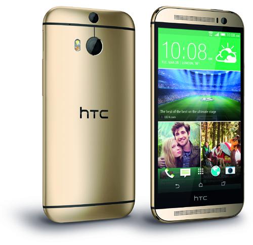 Le HTC One (M8) version Or est disponible chez Bouygues Telecom
