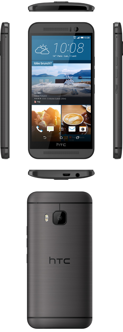 HTC lance en France le HTC One M9 Photo Edition