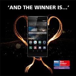 HUAWEI remporte l'EISA Award du smartphone des consommateurs pour la troisi�me ann�e cons�cutive avec le Huawei P8