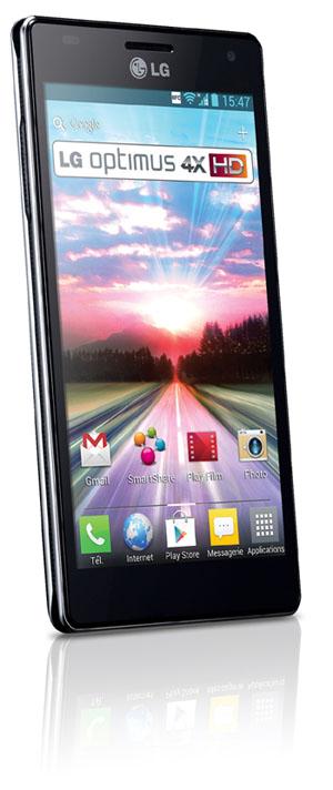 Le LG Optimus 4X HD arrive en France