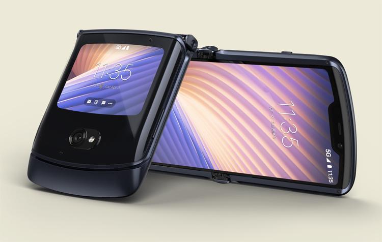 Le Motorola Razr fait son retour en version 5G