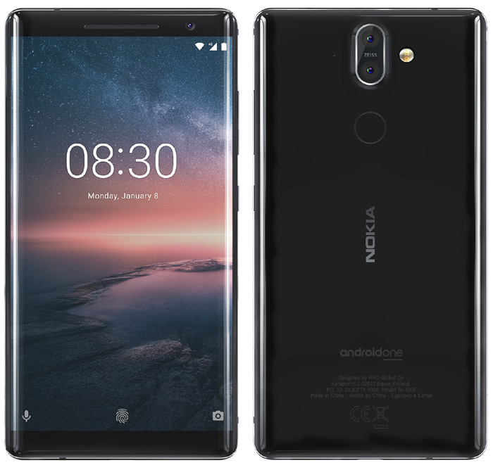 Le Nokia 8 Sirocco arrive en France le 23 mai prochain en édition limitée