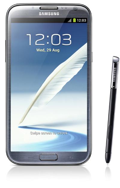 Le Samsung Galaxy Note 2 est disponible chez Virgin Mobile