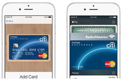 Le service de paiement Apple Pay est lancé en Chine