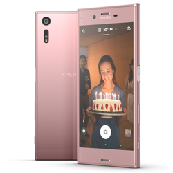 sony mobile d voile son xperia xz rose. Black Bedroom Furniture Sets. Home Design Ideas