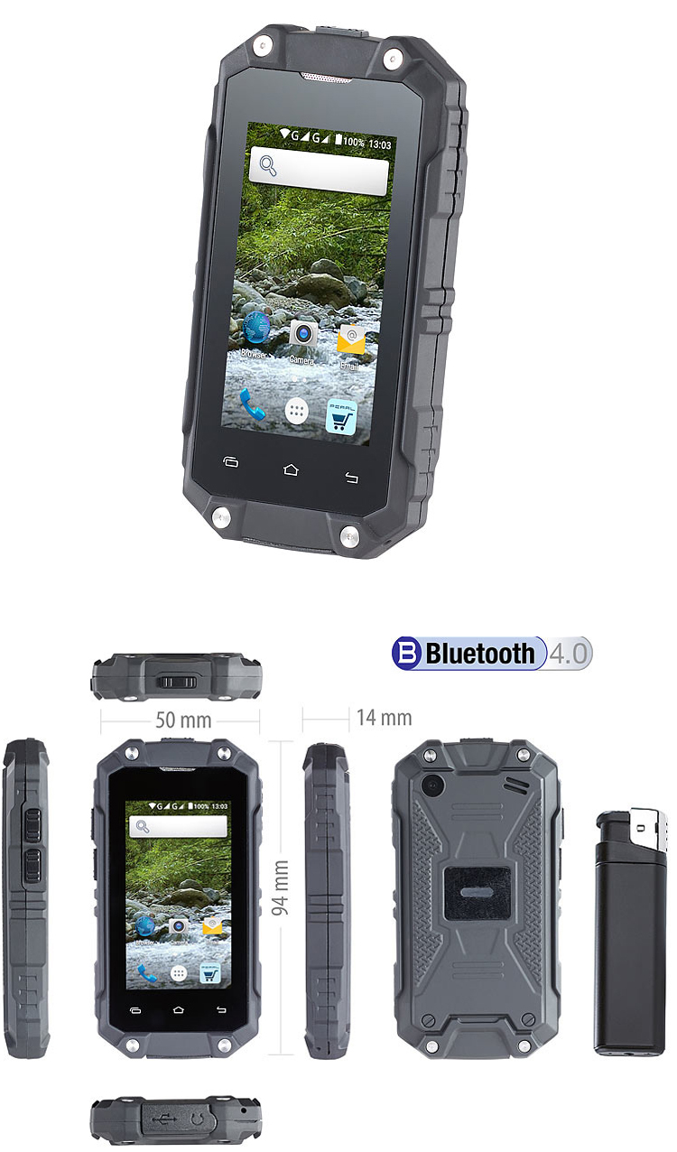 le spt 210 un smartphone tactile quip d 39 android 5 1. Black Bedroom Furniture Sets. Home Design Ideas
