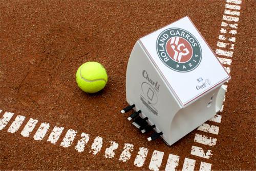 CharLi Charger recharge les batteries des joueurs à Roland-Garros