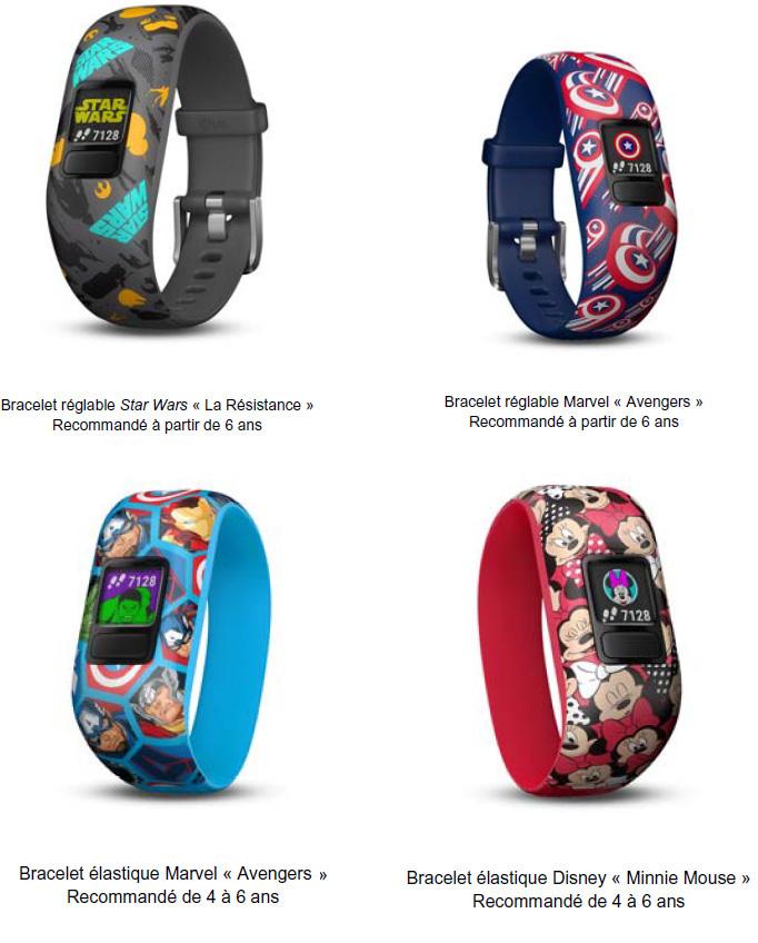 """Le """"vivofit jr. 2"""", un  bracelet qui permet aux enfants de rester actifs de manière ludique"""