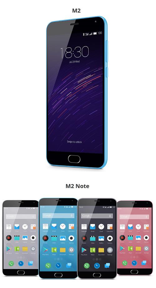 Pour Noël, Meizu propose les M2 et M2 Note à petit prix