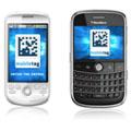 Les codes barres 2D flashcode peuvent être lus sur les GPhone et BlackBerry