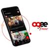 Les contenus TV sont désormais disponibles sur mobiles avec l'application OQEE by Free
