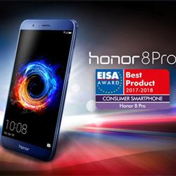 Le Honor 8 Pro est élu Consumer Smartphone 2017-2018