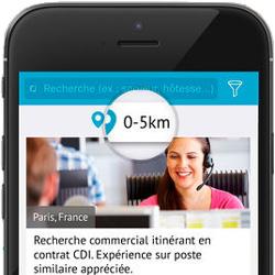 Les Français préfèrent utiliser une application pour rechercher un emploi