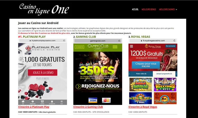 Script online-kasino sivustome