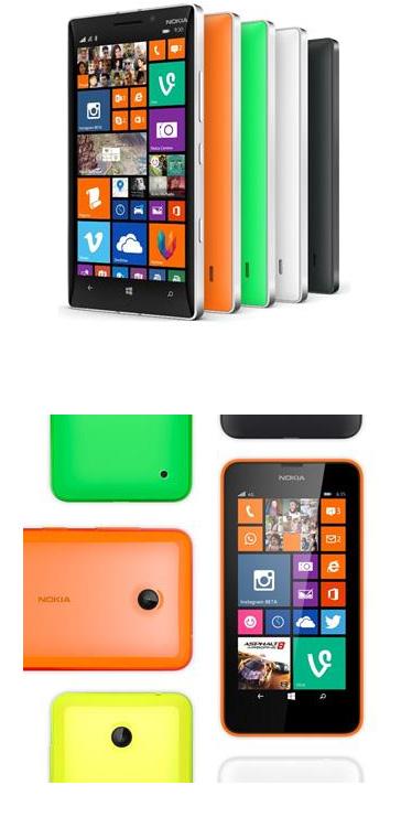 Les premiers smartphones Windows Phone 8.1 arrivent en France