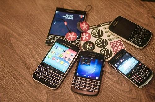 Blackberry proposera trois nouveaux smartphones