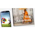 Les utilisateurs du Samsung Galaxy S4 pourront imprimer de façon instantanée un livre photo ou un magazine