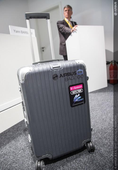 Les valises connectées d'Airbus et Air France